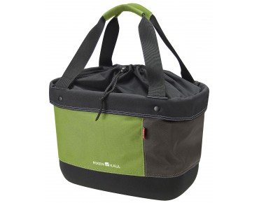 Rixen & Kaul SHOPPER ALINGO handlebar bag green/brown
