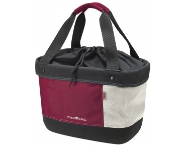Rixen & Kaul SHOPPER ALINGO handlebar bag red/cream