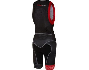 Castelli FREE SANREMO SUIT SLEEVELESS tri suit black/red