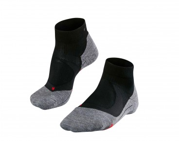FALKE RU4 CUSHION SHORT socks black