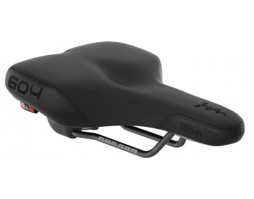 SQlab 604 active trekking saddle schwarz