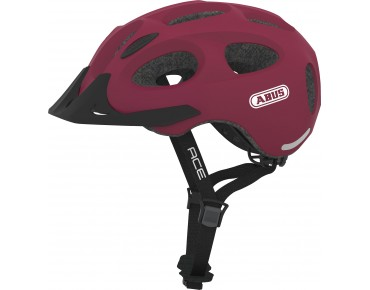 ABUS YOUN-I ACE Fahrradhelm cherry red