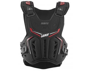 LEATT 3DF AIRFIT CHEST PROTECTOR Brust Protektor black/red