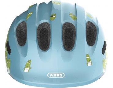 ABUS SMILEY 2.0 Kinder Fahrradhelm blue croco