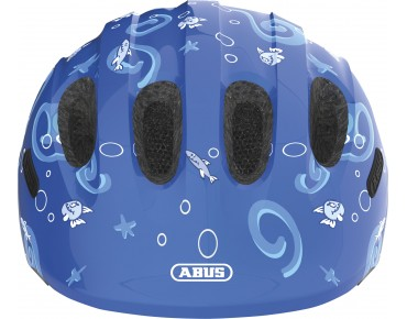 ABUS SMILEY 2.0 Kinder Fahrradhelm blue sharky