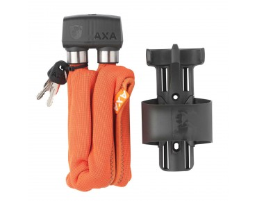 AXA foldable 800 folding lock orange