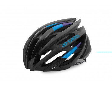 GIRO AEON racehelm matte black/blue/purple