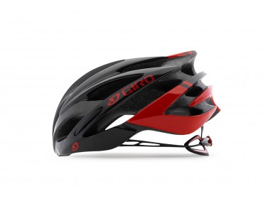 GIRO SAVANT racehelm bright red/black
