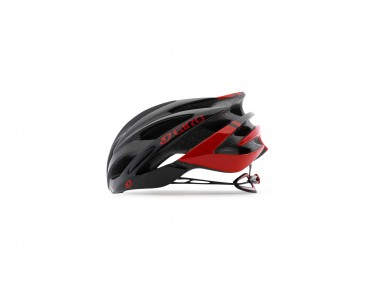GIRO SAVANT Rennradhelm bright red/black