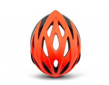 GIRO SAVANT road helmet with MIPS matte vermillion/flame fade