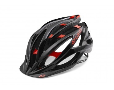 GIRO FATHOM MTB-Helm bright red/black