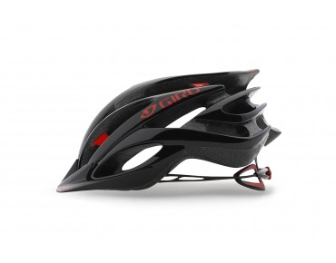 GIRO FATHOM MTB helmet bright red/black