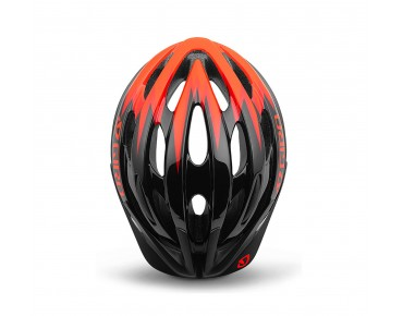 GIRO RAZE kids' cycle helmet black/vermillion zap