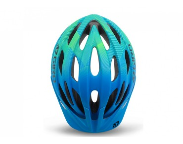GIRO RAZE kids' cycle helmet matte blue/lime