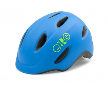 GIRO SCAMP kids' helmet matte blue/lime