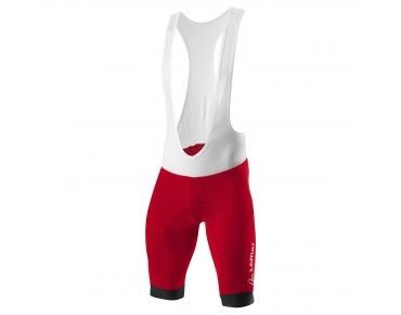 Löffler HOTBOND bib shorts red