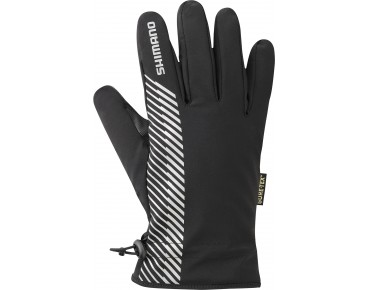 SHIMANO GORE-TEX winter cycling gloves schwarz