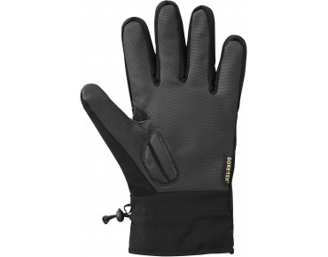 SHIMANO GORE-TEX winter cycling gloves black