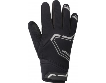 SHIMANO EXTREME winter cycling gloves black