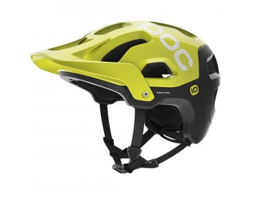 POC TECTAL cycle helmet unobtanium yellow