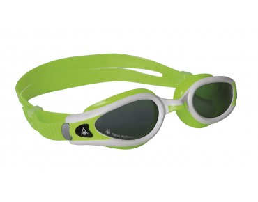 Aqua Sphere Kaiman Exo small swimming goggles lime-white/grey lens