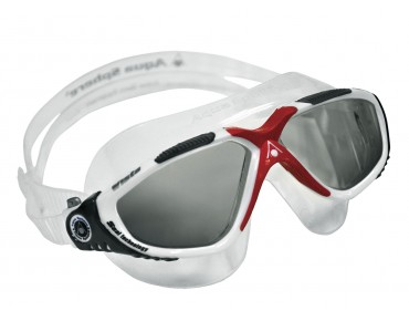 Aqua Sphere Vista goggles red-white-black/grey lens
