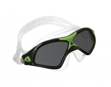 Aqua Sphere Seal XP2 swimming goggles black-green/grey mirror