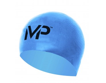 MP Michael Phelps Race Cap Badekappe blau/schwarz