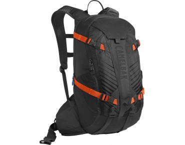 CamelBak K.U.D.U.18 backpack incl. protector black/laser orange
