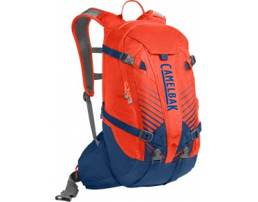CamelBak K.U.D.U.18 backpack incl. protector cherry tomato/pitch blue