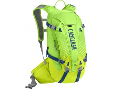 CamelBak K.U.D.U. 12 backpack incl. protector - test winner MountainBIKE 11/2014 - limeade/lime punch