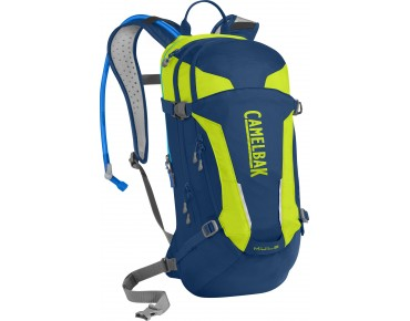 CamelBak M.U.L.E. Trinkrucksack pitch blue/lime punch