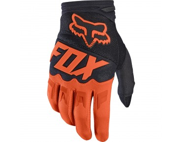 FOX DIRTPAW RACE Handschuhe orange/black