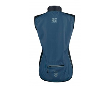 ROSE PRO FIBRE Damen-Windweste navy/black
