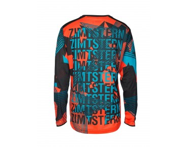 Zimtstern CONNORZ bike shirt with long sleeves spice red