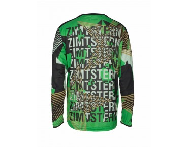 Zimtstern CONNORZ bike shirt with long sleeves greener
