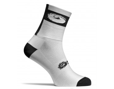 SIDI LOGO Radsocken white/black