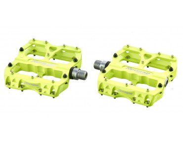Reverse Escape pedals day-glo yellow