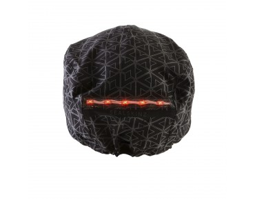 SealSkinz HALO WATERPROOF HELMET COVER Helmüberzug black/reflective print