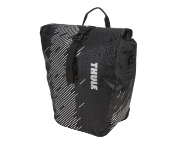 Thule Pack 'n Pedal SHIELD PANNIER pannier set, 24 l Large black