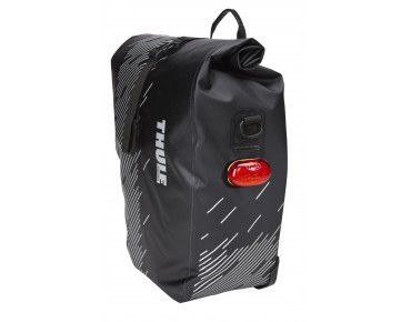 Thule Pack 'n Pedal SHIELD PANNIER SMALL pannier set, 14 l Small black