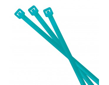 rie:sel design cable:tie Kabelbinder neon blue