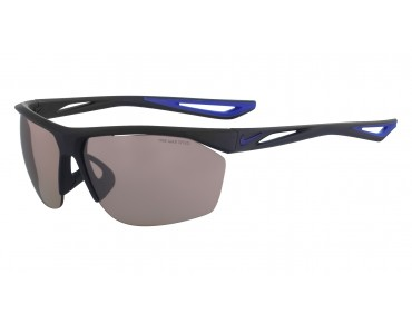 Nike TRAILWIND Sportbrille matte  obsidian-deep royal blue/speed tint lens