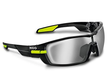 KOO Sportbrillen Set black/green