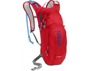 CamelBak LOBO Trinkrucksack racing red/pitch blue