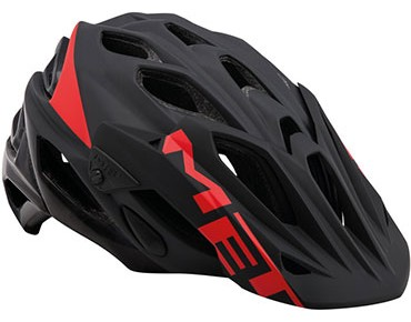 MET PARABELLUM MTB Helm black/red