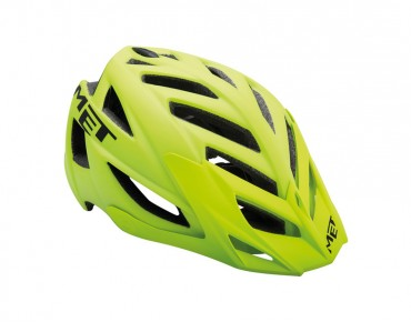 MET TERRA - casco MTB matte yellow fluo/black