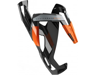 Elite Custom Race Plus bottle cage black/orange