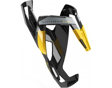 Elite Custom Race Plus bottle cage schwarz/gelb