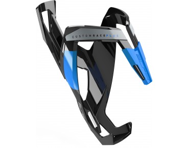 Elite Custom Race Plus bottle cage schwarz/blau